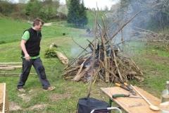 Wied verbrennen